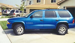 1998 Dodge Durango Intense Blue